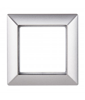 Рамка Eco profi на 1 пост, алюминий
