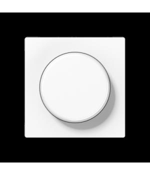 Светорегулятор пов. б/н 1-10В (люм.лампы) нажимной, белый