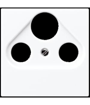Розетка TV-RD-SAT оконечная, белый