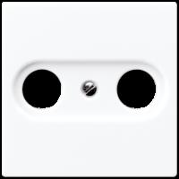 Накладка для розетки TV-FM  EcoProfi, белый