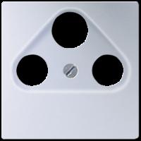 Накладка TV-SAT-FM розетки  EcoProfi, алюминий