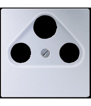 Розетка TV-RD-SAT оконечная, алюминий