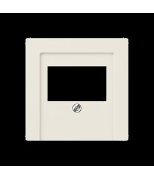 Розетка USB для зарядки двойная, слоновая кость