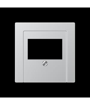 Розетка мультимедийная Audio Hi-Fi stereo, алюминий