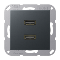 Розетка мультимедийная 2 x HDMI