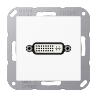 Розетка мультимедийная DVI